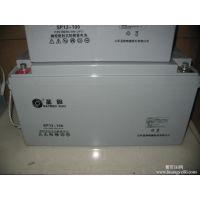 龙口圣阳蓄电池价格12V100AH白色壳体质保三年