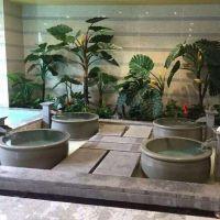 陶瓷泡澡缸 洗浴中心陶瓷缸 创新洗浴大缸 景德镇陶瓷泡缸 日式浴缸