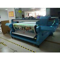 任何材质丝圈地毯彩印机 工业型LK2000UV卷平一体机 东方龙科厂家直销