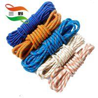 厂家直销 三野牌高品质优价格尼龙绳 包芯环保耐磨尼龙绳定制 加工