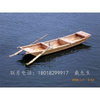 楚风南通 公园小区保洁船仿旧小木船小渔船