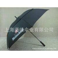 供应碳纤维伞架 高档双层高尔夫伞 广告伞雨伞定做厂家 上海高尔夫雨伞厂