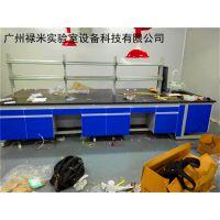 食品行业实验室安装 钢木实验台 通风柜 万向排烟罩 试剂架
