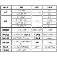 中西(LQS) 智能蓄电池内阻测试仪型号:TY13-OBT-6620库号:M396736