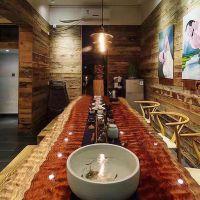巴花奥坎胡桃木实木大板办公桌书桌茶桌餐桌会议桌