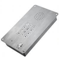 供应洁净室嵌入式安装的不锈钢电话SIP-IT-13防水防尘