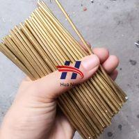 外径1.5mm内径1mm精密黄铜管 H65国标黄铜管