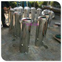 香洲区原水处理精滤器 清又清管式工业水处理保安精密过滤器