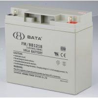 鸿贝12V18AH蓄电池 阀空式免维护铅酸电池