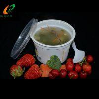 一次性乳白汤杯/400ml/300ml粥杯/紫菜蛋花汤杯/塑料八宝粥印刷杯|陕西瑞翔塑业