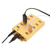 稳定王USB分线器HUB集线器大功率USB扩展器群控HUB