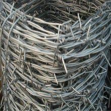 PVC防护刺绳 铁蒺藜刺线 无锡刺绳机