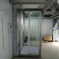 济南伟晨生产定制曳引电梯,别墅电梯小型升降机,固定式升降台玻璃观光轿厢