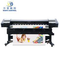 户内外广告写真机 喷绘打印机 pp背胶灯箱布打印机 可上门安装