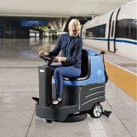 杨凌会展中心用驾驶式地面清洗机容恩R-XBEN 全自动洗地机环氧地坪地面用
