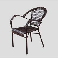 南山户外藤椅编制,藤条椅子订制,休闲餐椅家具工厂批发
