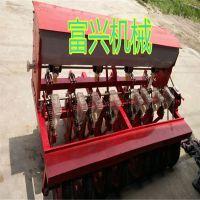 6行小颗粒种子播种机 拖拉机带小粒种子精播机 可调节中药材种植机厂家
