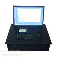 科桌 显示器电动翻转器 19寸液晶屏翻转器 会议桌面隐藏液晶屏 视讯会议系统