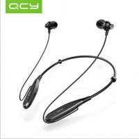 QCY qy25颈挂式运动蓝牙耳机双耳无线音乐跑步苹果通用耳塞式4.1