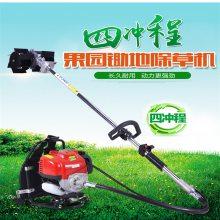 自走式草坪修剪机 软管汽油除草机 麦田割草机价格