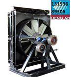 风力发电机组散热器价格 1MW发电机组铝质水箱配件批发
