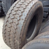 厂家供应朝阳牌445/65R22.5 超级单胎 拖车油田修井机轮胎