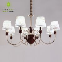 供应蒙宇酒店客房客厅卧室吊灯 美式乡村吊灯 简约大气LED光源D8017