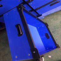 山东中空板厂家生产防静电pp板,PP中空板刀卡周转箱 免费提样