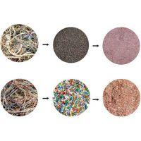 喀什市废旧电线电缆粉碎铜米机 铝塑分离铜米机 电路板回收设备曼威