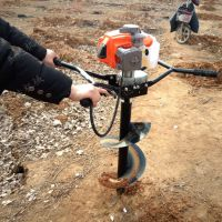 单人挖坑机 葡萄桩打坑机 硬土质打坑机