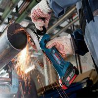 钢管自动切割机GWS18V-LI充电式手提角磨机 金属打磨切割机