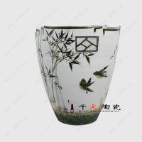 景德镇手工花瓶批发 开店加盟千火陶瓷