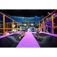牧童2018新款淘气堡 儿童蹦床游艺设施 儿童游乐场 淘气堡设备生产厂家 pvc材质