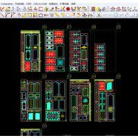 橱柜门自动排版软件,Alphacam CDM,橱柜门排版软件木工雕刻自动排版