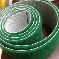 绒布用来防滑包辊 刺皮绒布包辊带 绿绒糙面带运用广泛