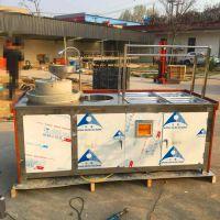 石磨腐竹油皮机 全自动腐竹生产设备 高产耐用腐竹油皮机