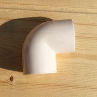 PVC国标角弯4分6分1寸穿线管90度弯头塑料管件接头16 20 25 32 40