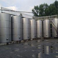 黑龙江求购立式白钢储酒罐 融兴不锈钢储罐生产厂家304不锈钢酒罐