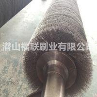 地板生产线针板刷胶机钢丝辊刷 地板机械钢丝辊刷