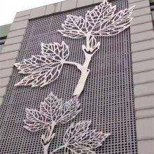 外墙雕花铝板-双面雕花屏风装修效果图