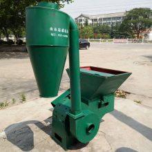 工厂直销农用饲料粉碎机家用电秸秆打糠机各种规格粉草机