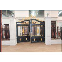 高档铝艺大门护栏,别墅庭院门,整套防盗门,铝艺扶手,公司直供铝合金门