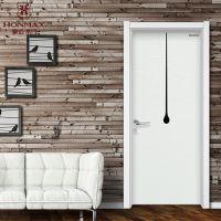 YS-3008豪迈时尚个性白色烤漆门 重庆木门品牌厂家