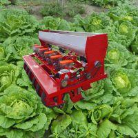 拖拉机带四行谷子精播机 启航谷子高粱蔬菜播种机 小颗粒种子精播机