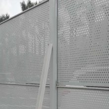 金属穿孔防护网 珠海施工地冲孔板网 香洲区新型洞洞板栏