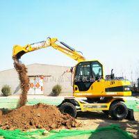 供应 山鼎 云南地区最受承包商欢迎的 小型轮式挖掘机