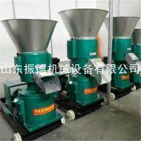 厂家直销 ZD-200A饲料平模颗粒机 领先销售平模颗粒机 家用电造粒机 振德机械