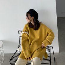 厂家清仓处理女装毛衣 外贸原单尾货羊毛衫女 中老年女上衣打底衫