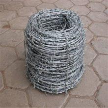 不锈钢刺绳护栏 刺绳滚笼 包塑铁线