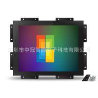 15寸工控抗干扰显示器 嵌入机械机床设备电容触摸显示器